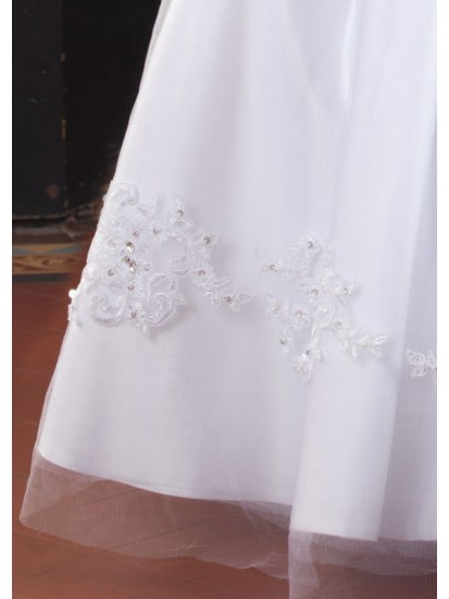 Sleeveless Communion Dress...