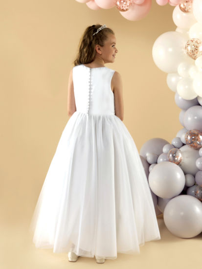 A soft tulle Holy Communion dress :...