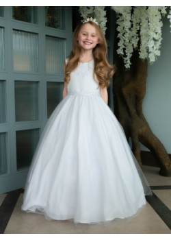 Pearl Bodice First Holy Communion Dress: