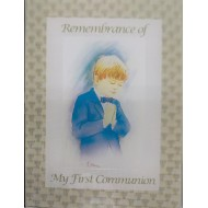 Remembrance of My First Communion Photo Album