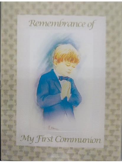 Remembrance of My First Communion Photo Album...