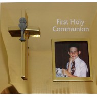 Brass Photo Frame: Good Gift for Holy Communion