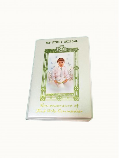 My First Missal Communion Prayer Book:...