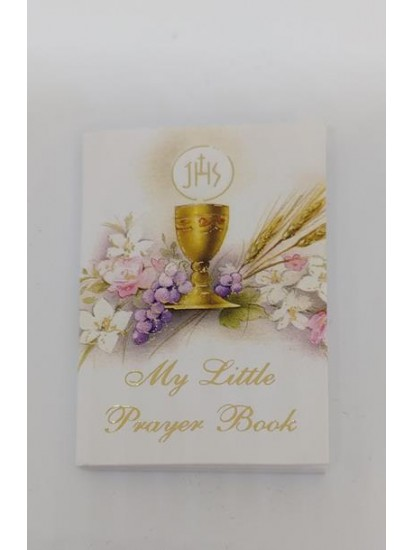 Pocket Prayer Book with 22 pages of Prayers Ideal for Holy Communion...
