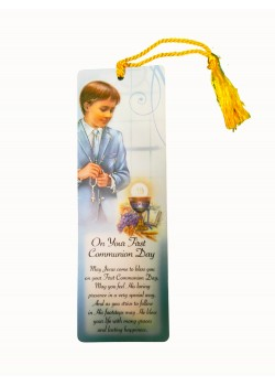Beautiful First Communion Bookmark