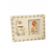 Porcelain Photo Frame Ideal First Communion Gift for a Girl