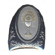 Ideal Holy Communion Gift: Free standing Sterling Silver Plaque