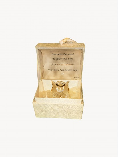 First Holy Communion Crystal Guardian Angel in A Box...
