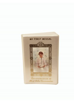 First Holy Communion Small Pearl Cover Missal