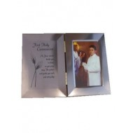Double Metal Photo Frame: Ideal Holy Communion Gift