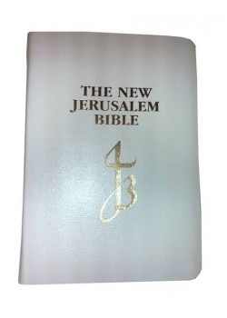 First Holy Communion CTS New Catholic Bible in White Leather