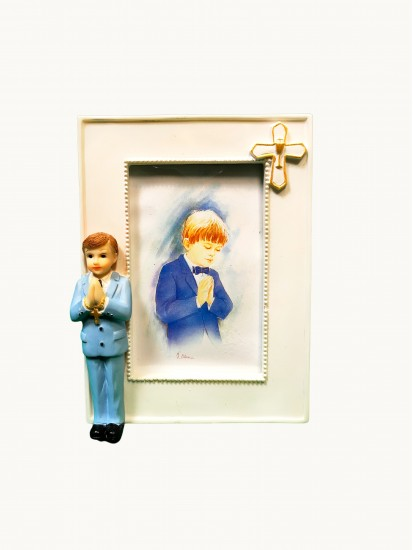 Communion Resin Photo Frame Gift for a Boy...