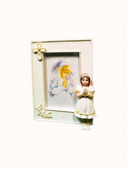 Communion Resin Photo Frame For a Girl...