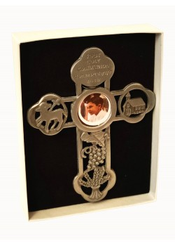 Pewster Cross with Communion mofit