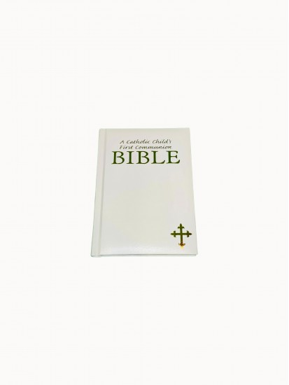 A White First Communion Illustrated Bible for an 8/9 year old...