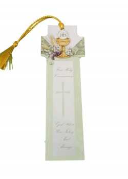 A Lovely Laminated Cross Shaped Bookmark