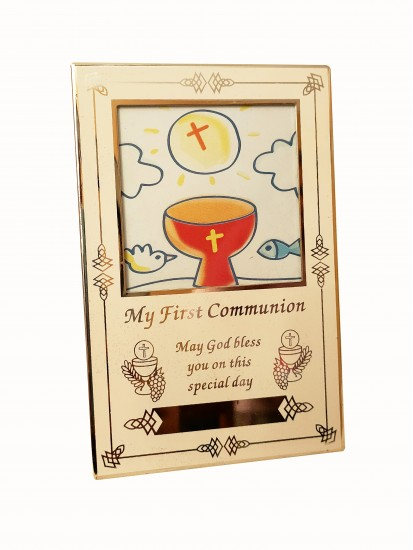 Small Photo Frame with a place for the engravement of name and/or date...