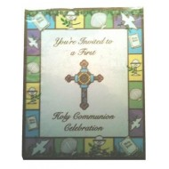 8 x First Holy Communion invitations