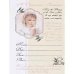 12 Girl  1st Holy Communion Invitations with Envelopes