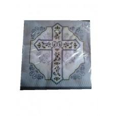 8 - 9' inch Square Communion Paper Plates
