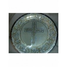First Communion Generic Plates 8 in a pack
