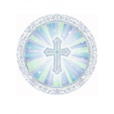 First Communion 8 - 9' inch Communion Paper Plates