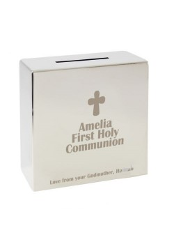 Personalised Communion Money Box