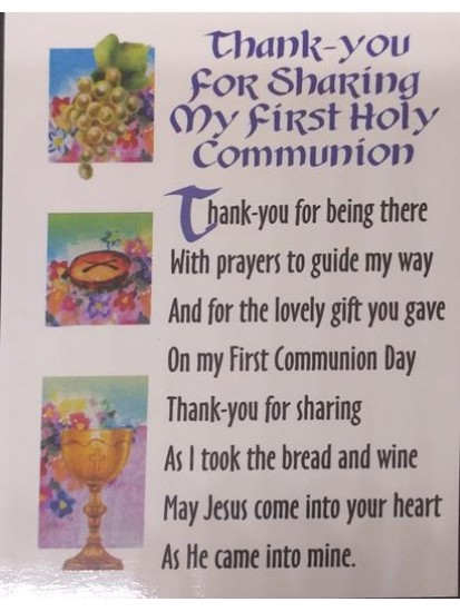 10 x First Holy Communion